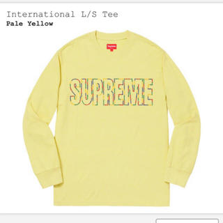 Supreme - Supreme International Tee Lサイズ