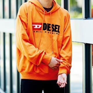 DIESEL - DIESEL ディーゼル オレンジパーカー