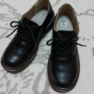アシナガオジサン(あしながおじさん)のby :あしながおじさん★黒オックスフォードシューズ。(ローファー/革靴)