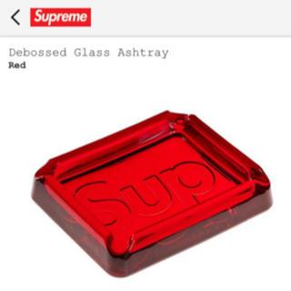 シュプリーム(Supreme)のSupreme 20ss glass ashtray 赤 灰皿(灰皿)