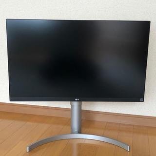 エルジーエレクトロニクス(LG Electronics)のLG モニター IPS 4k 【27UK650-W】(ディスプレイ)