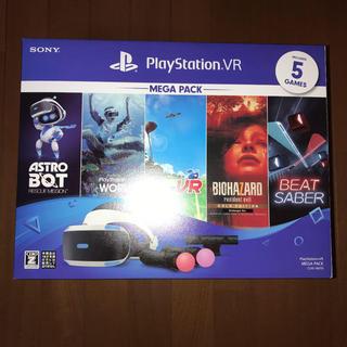 プレイステーションヴィーアール(PlayStation VR)の【新品】PlayStation VR MEGA PACK CUHJ-16010(家庭用ゲーム機本体)