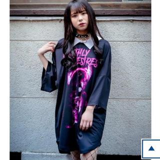 ミルクボーイ(MILKBOY)のTRAVAS TOKYO  X-ray bear collared BIG T (Tシャツ/カットソー(半袖/袖なし))