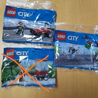 レゴ(Lego)ののりてん様専用 レゴシティ 2個セット(知育玩具)