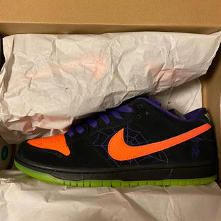 ナイキ(NIKE)のSB Dunk Low Night of Mischief Halloween(スニーカー)