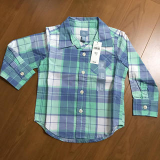 ベビーギャップ(babyGAP)のGAP  キッズ長袖シャツ  サイズ90(その他)