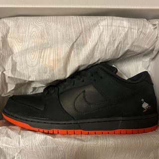 ナイキ(NIKE)のStaple × Nike SB Dunk Low Black Pigeon(スニーカー)