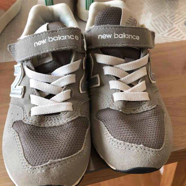 New Balance(ニューバランス)のニューバランス キッズスニーカー17.5センチ キッズ/ベビー/マタニティのキッズ靴/シューズ(15cm~)(スニーカー)の商品写真