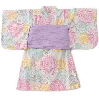 petit main - プティマイン 花火柄浴衣