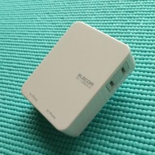 ELECOM - ELECOM USB充電機能付き電源タップ iPhone,iPad用
