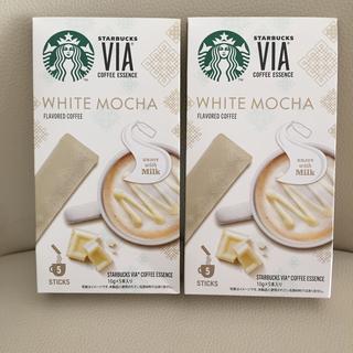 Starbucks Coffee - 10本 ホワイトモカ スターバックス ヴィア