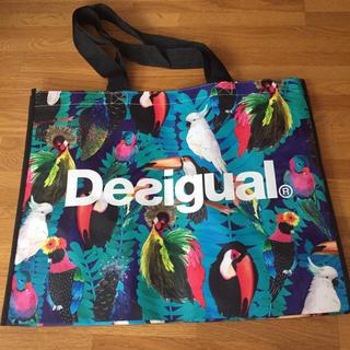 デシグアル(DESIGUAL)のデシグアル  ショッパー トートバッグ エコバッグ desigual(ショップ袋)