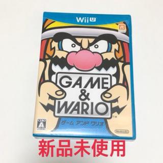 ウィーユー(Wii U)のゲーム&ワリオ - Wii U(家庭用ゲームソフト)