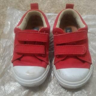 babyGAP - babyGAP 靴 14cm☆赤 レッド スニーカー