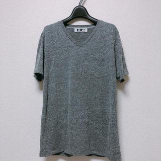 ナノユニバース(nano・universe)のnano・universe Tシャツ グレー ナノユニバース (Tシャツ/カットソー(半袖/袖なし))