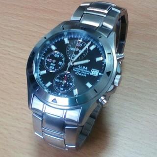 アルバ(ALBA)のSEIKO クロノグラフ 腕時計 ALBA(セイコー アルバ) ムーブメント(腕時計(アナログ))