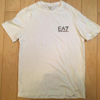 Emporio Armani - 美品エンポリオアルマーニ 半袖tシャツ メンズ白Xs EA7 通常SM相当
