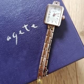 アガット(agete)のagate ブレスレット時計(腕時計)