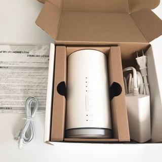 エーユー(au)のau  WiMAX Speed Wi-Fi HOME  L01s ルーター(PC周辺機器)