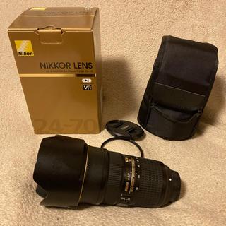 ニコン(Nikon)のNikon AF-S 24-70F2.8E ED VR 美品(レンズ(ズーム))