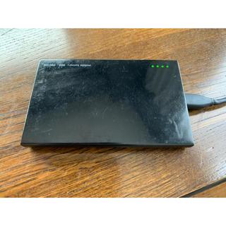 マクセル(maxell)のモバイル充電バッテリー 2600mAh 日立マクセル MPC-C2600 WH(バッテリー/充電器)