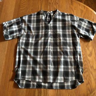 サンカンシオン(3can4on)の3can4on チェックシャツ(シャツ/ブラウス(半袖/袖なし))