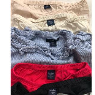 babyGAP - 子供服 サイズ90 オーバーパンツ 5枚セット