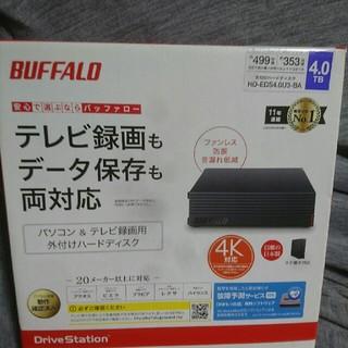 Buffalo - バッファロー 4TBハードディスク