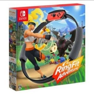 ニンテンドースイッチ(Nintendo Switch)の即発送 送料込 ニンテンドースイッチ リングフィットアドベンチャー(家庭用ゲームソフト)