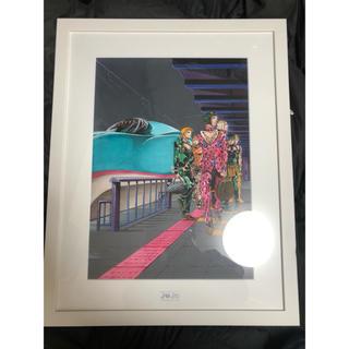 ジョジョ展2012年『ジョジョの奇妙な冒険』 複製原画  ブチャラティチーム美品