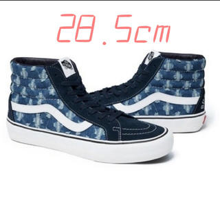 Supreme - Supreme Vans Hole Punch Denim Sk8-Hi 285