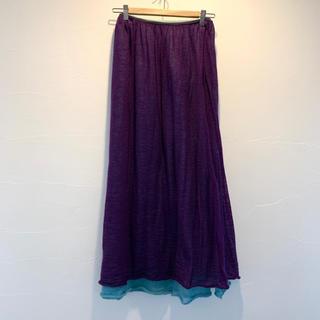 リミフゥ(LIMI feu)のLIMI feu ニットスカート2色セット(ロングスカート)