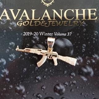 アヴァランチ × AK69 10k YG ペンダントトップ アバランチ k10