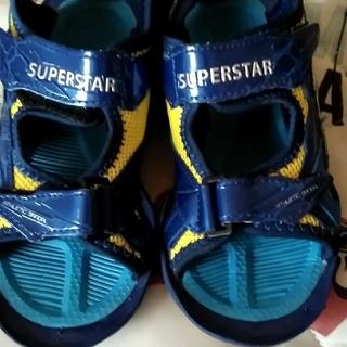 SUPERSTAR - スーパースター サンダル 19センチ