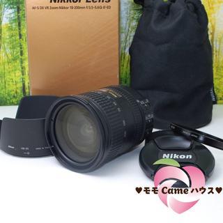ニコン(Nikon)のニコンAF-S DX 18-200㎜★手振れ補正つきレンズ☆971-1(レンズ(ズーム))