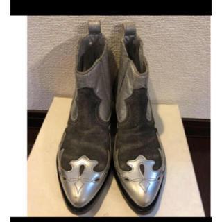 ドゥーズィエムクラス(DEUXIEME CLASSE)のゴールデングース ウエスタンブーツ 36 (ブーツ)