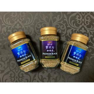 エイージーエフ(AGF)のAGF インスタントコーヒー 3本セット ②(コーヒー)
