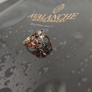 アヴァランチ(AVALANCHE)のアヴァランチ 10k ツーフェイスリング アバランチ k10 指輪(リング(指輪))