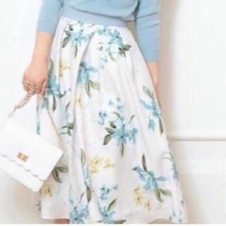 Apuweiser-riche - 【美品】Apuweiser-riche 花柄スカート