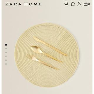 ZARA HOME - 美品・即発送 ZARA HOME ラウンドランチョンマット テーブルクロス