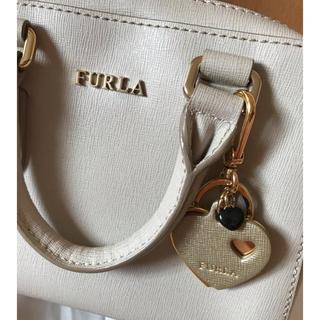 Furla - フルラ  ハンドバッグ ハートチャーム付き