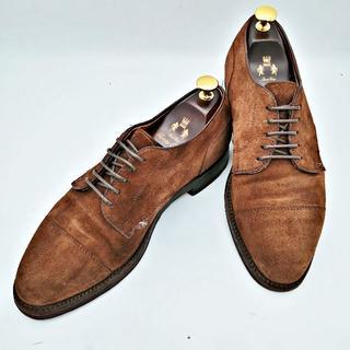 オールデン(Alden)のAlden オールデン SHIPS 別注モデル 靴 スエード US7 ブラウン(ドレス/ビジネス)