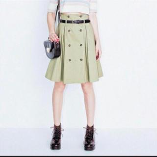 dazzlin - 【dazzlin】トレンチ巻きスカート