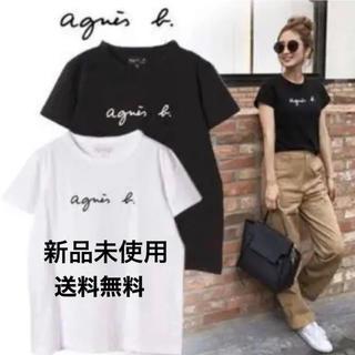 agnes b. - アニエスベー ロゴ Tシャツ 新品 半袖