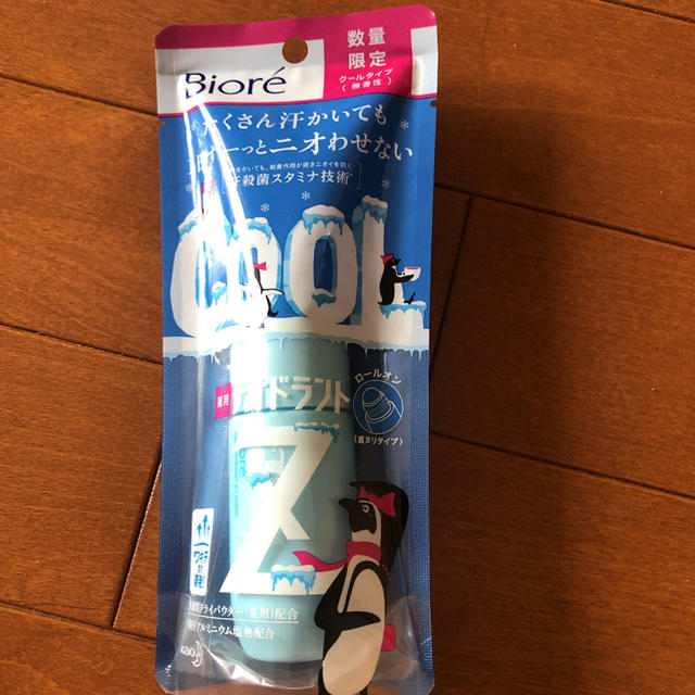 Biore(ビオレ)のビオレ 薬用デオドラントZ ロールオン クールタイプ 40ml コスメ/美容のボディケア(制汗/デオドラント剤)の商品写真