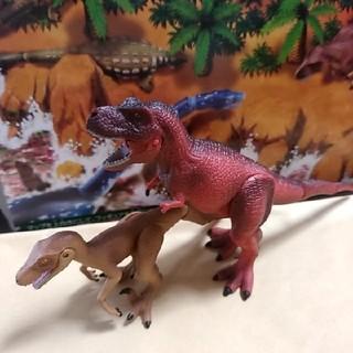 Takara Tomy - アニア ティラノサウルス&ヴェロキラプトル