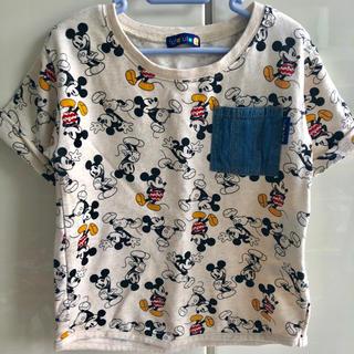 Disney - ディズニー フタフタ ミッキーTシャツ 120
