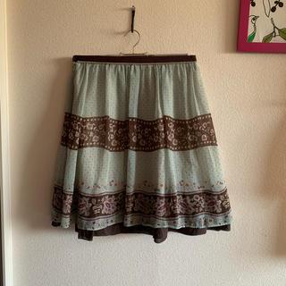 デンドロビウム(DENDROBIUM)のバビロン 膝丈スカート(ひざ丈スカート)