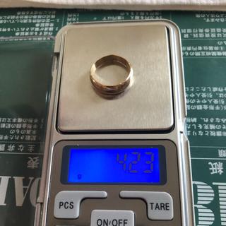K18リング K18金指輪