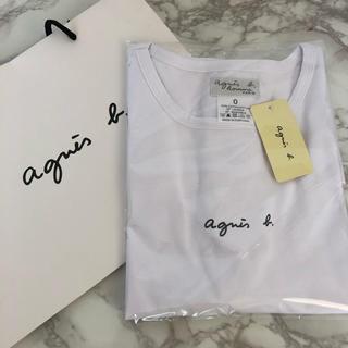 agnes b. - 【新品】agnes b アニエスベー Tシャツ ホワイト